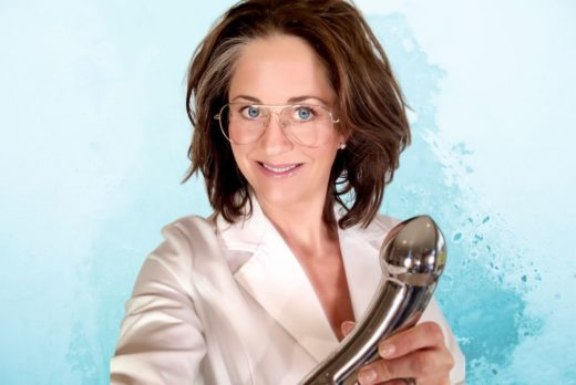 njoy eleven stainless steel dildo toy tuesday elisabet barnes